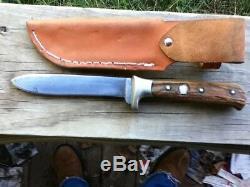 1950'sPUMA WERKBESTELL NR. 3589SOLINGEN CUTLERYB. SVOBODAHANDARBEIT KNIFE