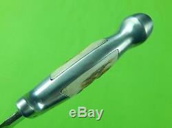 1956-58 Custom Hand Made R. H. Ruana Model 14B S Stamped Hunting Skinner Knife