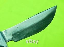 1962-83 US Custom Handmade R. H. RUANA Model 13A M Stamped Hunting Knife Sheath