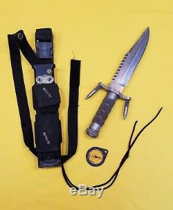 1984-85 1st Issue Buck 184 Buckmaster Tactical Survival Knife