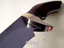 2007 Buck Kalinga Pro 408 BOS/S30V Hunting Knife-NOS