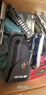 25 POUNDS TSA Confiscated MULTI-TOOLS Various KNIVES TREASURE HUNT GRAB BAG BOX