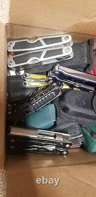 27 POUNDS TSA Confiscated MULTI-TOOLS Various KNIVES TREASURE HUNT GRAB BAG BOX