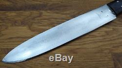 Antique Camp Butcher LAMSON Razor sharp Carbon steel bushcraft trade Knife USA