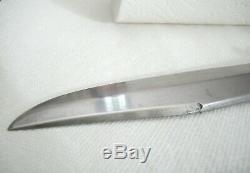 Antique Vintage G. C. Co. GERMAN Hunting BOWIE KNIFE & SHEATH 8 blade 1/4 thic