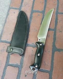 BECKER BLACKJACK Knives BK&T BK5 Magnum Camp Knife Jerry Fisk NICE COLLECTOR