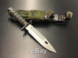 BUCK 188 USA Military Fixed Blade Knife M9 Phrobis III USA (CN055)