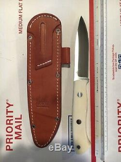 Bark River Knife 9.5L 4.5CPM 3V Blade W Leather Sheath