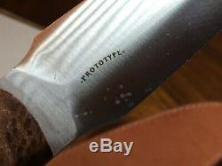 Bark River Knife And Tool Mountain Man Dagger Prototype Beautiful