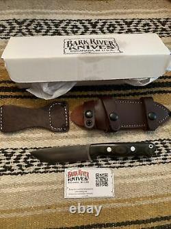 Bark River Knives Bravo 1 LT Cru-Wear SS Blade Hunting EDC Survival Knife/Sheath
