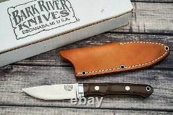 Bark River Knives Classic Utility Caper, Elmax, Green Canvas Micarta