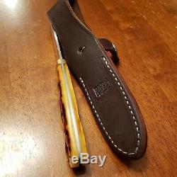 Bark River Knives Loveless Drop Point Fixed Blade Hunting Knife Sheath CPM154