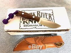 Bark River Knives Micro Bravo in CPM 154 steel Brown Micarta scales -USA made