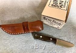 Bark River Knives Micro Bravo in Elmax steel Green Micarta scales -USA made