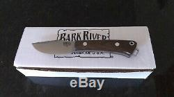 Bark River Knives Trailmate A2 Steel Green Micarta Scales