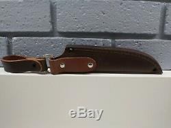 Battle Horse Knives Patriot Scout Knife O1 Steel Scandi Dangler Sheath lanyard