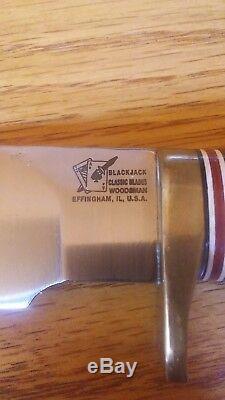 Blackjack Knife From Effingham Illinois