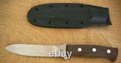 Bob Dozier Large Fixed Blade Elk Hunter Knife/kydex Sheath, Micarta, Spear Point