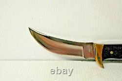 Buck Kalinga Fixed Blade knife Used Excellent Condition