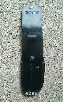 Buck Knife Set Sportsmen 118A & 103A #453 WithBox & Leather Sheath & papers
