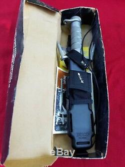 Buck Knives BUCKMASTER 184 SURVIVAL Knife preowned used but solid with box sheath
