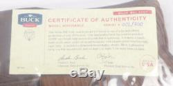 Buck Knives Custom Shop 903 Elk Handle Wilde Bill Cody with Sheath #001/250