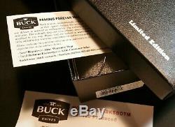 Buck Knives Open Season 535 Moose Skinner Knife S35VN Limited Edition of 150