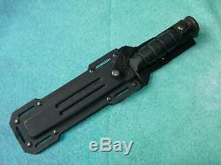 CAMILLUS USA Marine Corps Combat Knife 5684K VINTAGE Black Military Kydex Sheath