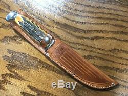 Case XX 1965-1980 Stag 523-6 Fixed Blade knife