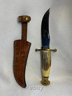 Case XX Kodiak Hunter Fixed Blade Knife With Sheath And Paperwork In Box