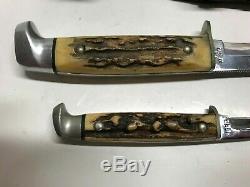 Case Xx, Finn Stag 2 Piece Knife Set, With Sheath