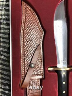 Case xx Black Synthetic Fixed Blade Bowie Knife 311 Knives