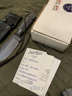 Chris Reeve Ubijane Skinner Survival/Hunting Knife 4.5 2007