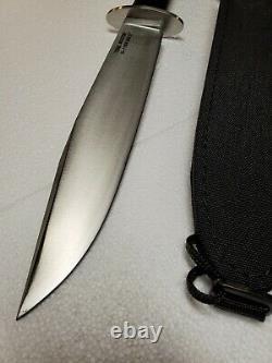 Cold Steel 16JSM Black San Mai III Trail Master Fixed Blade Knife + Sheath
