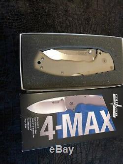 Cold Steel 4-Max 62RM Demko Folding Knife CPM-20CV Blade G10/Titanium Handle USA