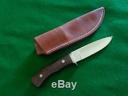 Custom Larry Page A-1 Custom Drop Point Hunter Knife