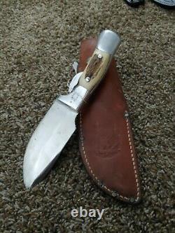 Custom Rudy R. H. Ruana M model Skinner Knife