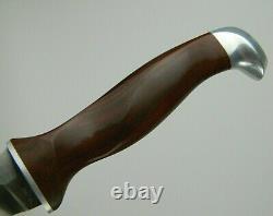 Cutco 1065 White Puma Hunting Knife with Original Leather Sheath