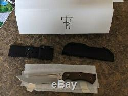Dark Timber Knives Honey Badger Gen-2 CPM-3V Green Micarta (UNUSED with Box)