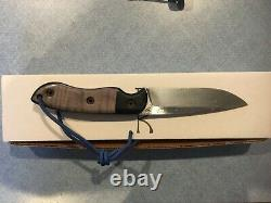 Dark Timber knife Skinny Woodsman