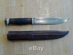 Early M. S. A. Co Knife with Original Tube Sheath