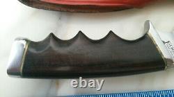 GERBER Model 400 Vintage Hunting Knife & Sheath COLLECTION GRADE A+ Oregon USA