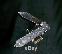 Geo. Schrade Knife Hunting & Fishing B. P. T. Conn. 1910's 4-7/8 Closed Very Rare