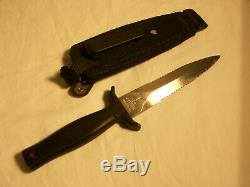 Gerber Mark 1 USA I/2 Serrated Collectable Hunting/Fighting Knife with Sheath