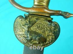German Germany Antique WW1 Hunting Dagger Short Sword Knife