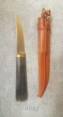 Hackman Finland Tapio Wirkkala, Hunting Knife. Excellent Condition