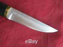 Hoffritz Finland Vintage Puukko Style Hunting Knife, Tapio Wirkkala Design