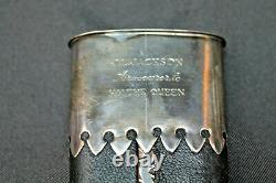 James Jackson Custom English Bowie Handmade Knife Rare vtg Sheffield Rare Silver