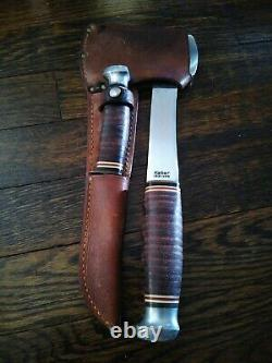 Kabar Knife Axe Combo withSheath, 1331 & 1232, Camping, Hunting