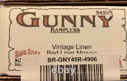 LOADED Bark River Gunny Rampless S45VN Knife With Custom Sheath & Ulti-Clip
